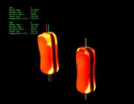 Graphoidal smart gob 3D camera system
