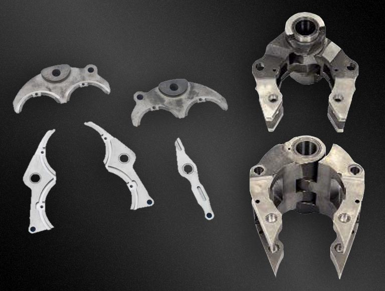 mould holders inserts