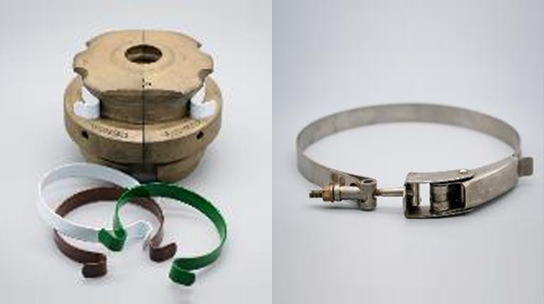 mould neck ring clamping