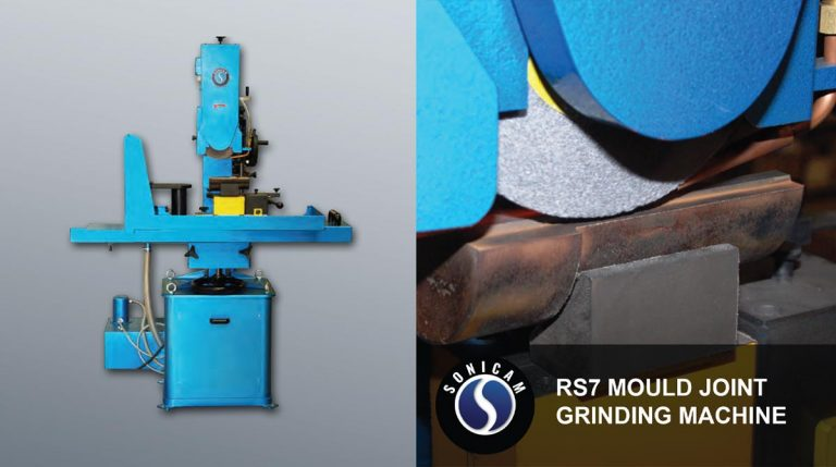 sonicam rs7 mold joint grinding machine