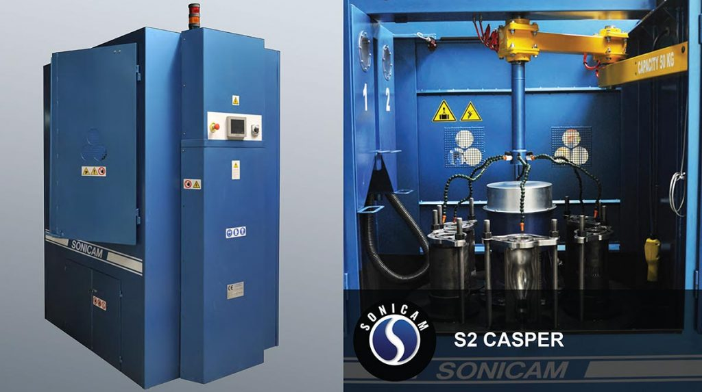 Sonicam S2 Casper vibration cleaning machine