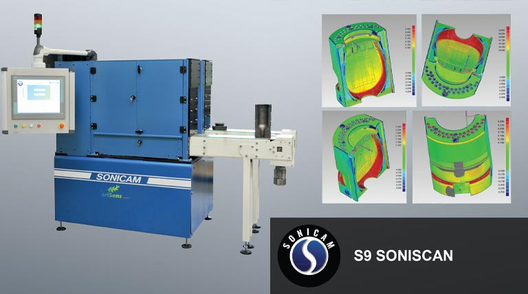 sonicam s9 soniscan mould scanning machine